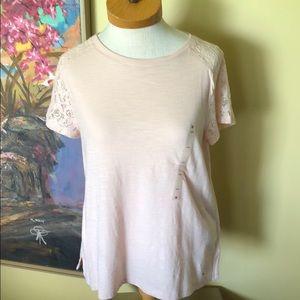 NWT Tommy Hilfiger Pink T-shirt Sz. S/P
